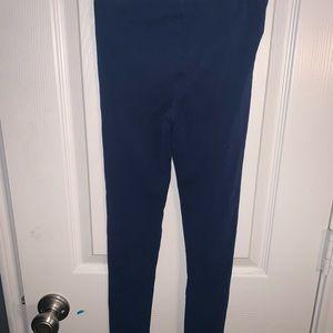 Carter's Bottoms - Girls Plain Dark Blue Casual Tights Size 7